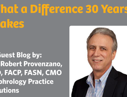 What a Difference 30 Years Makes: a Blog by Dr. Robert Provenzano