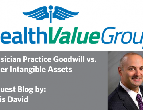 Physician Practice Goodwill vs. Other Intangible Assets