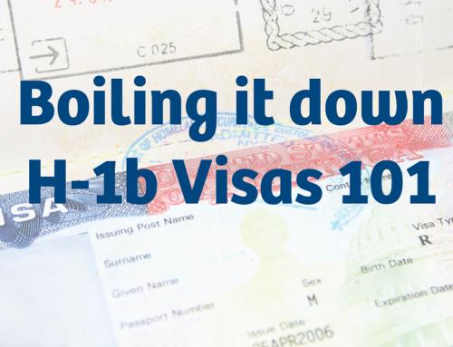 Boiling it Down: H-1b Visas 101